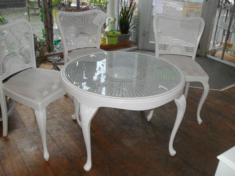 Tisch Couchtisch Chippendale Weiß Products - chippendale wohnzimmer weis