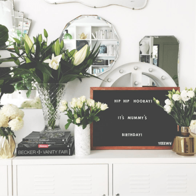 Trend alert: Felt letter board art - Jane Hogan Designs