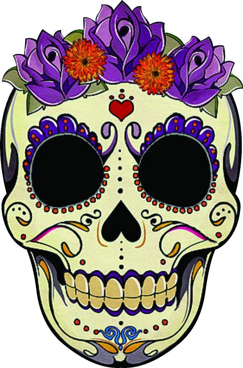 caveira mexicana -   catrinas   Pinterest   Sugar skulls, Sugaring ...