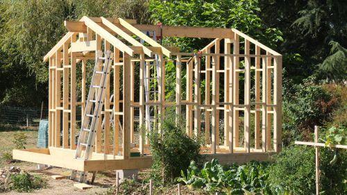 Autoconstruction Abri De Jardin Ou Chalet En Ossature Bois Construire Abri De Jardin Abri De Jardin Abri De Jardin Diy