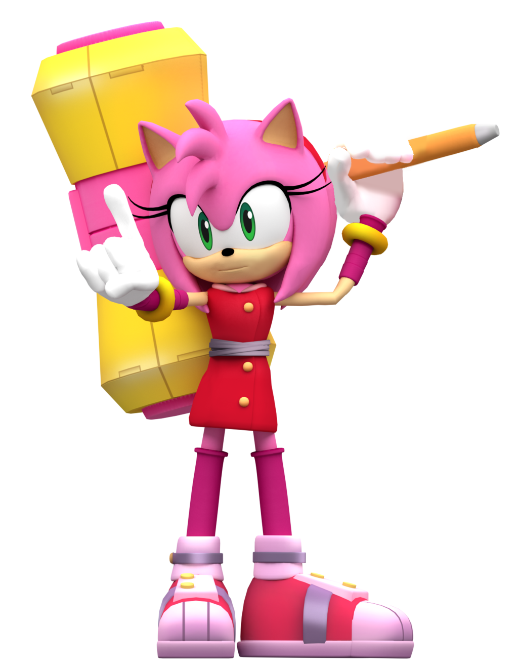 Sonic Boom Amy Render By Nibrocrock On Deviantart Sonic Boom Amy Amy The Hedgehog Sonic Boom