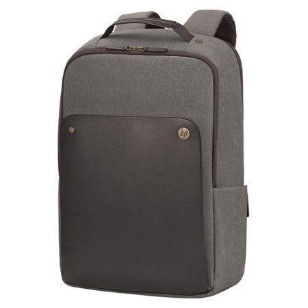 846ed2cfc8a0 HP P6N22UT Exec 15.6 Brown Backpack