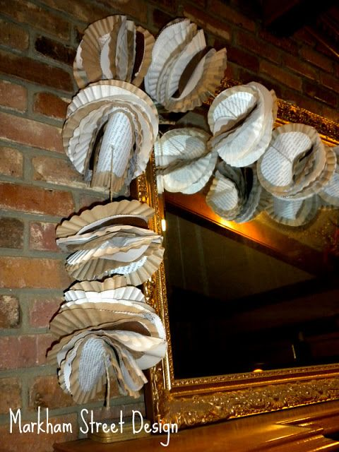 Laura Orr Interiors: Deck the Halls {Coffee Filter Garland}