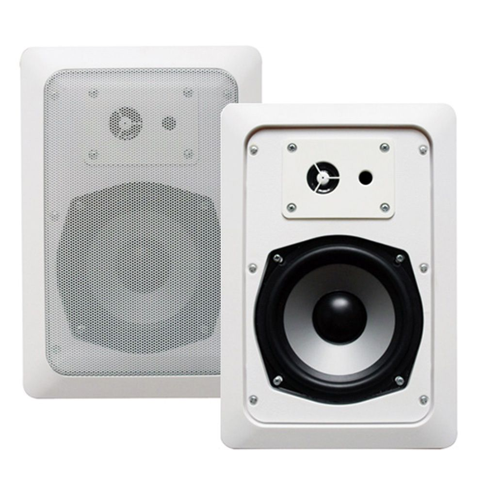 Acoustic Audio CS-IW530 In-wall Speaker Pair 3-way Home Theater 500 Watt CS-IW530-PR