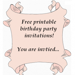 browse these free printable birthday party invitations for kids, Party invitations