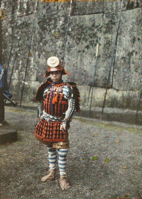 Первые цветные фотографии Японии | Цветная фотография ...