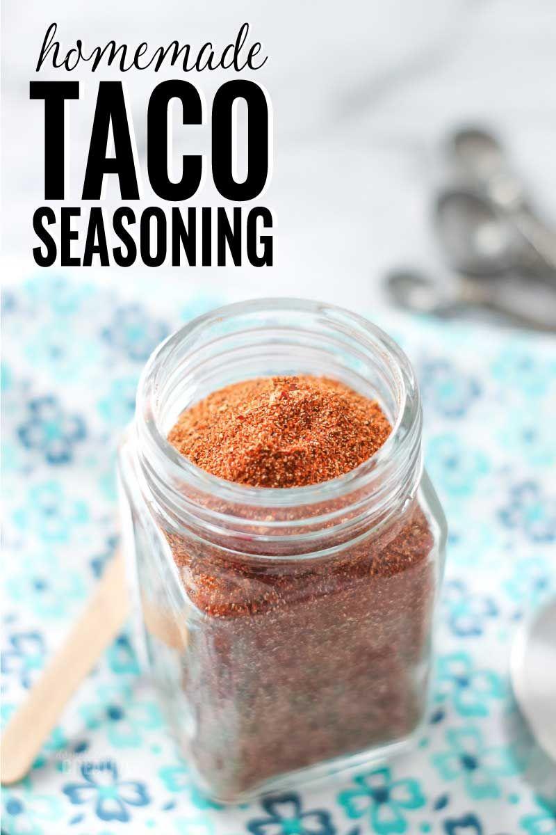 Easy Homemade Taco Seasoning Mix Recipe in 2020
