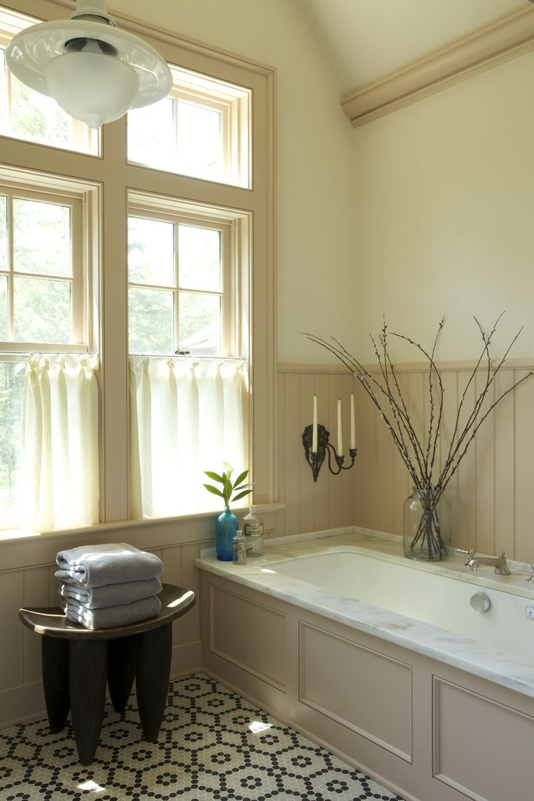 Bathroom interior wall trim on wallceiling by heide hendricks  hl  pinterest  dream