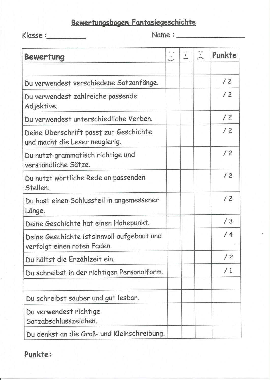 Bewertungsbogen Fur Feedback Bei Prasentationen Slidelizard 13