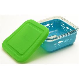 Glass Storage Container with Silicone Sleeve Lid Things I Want