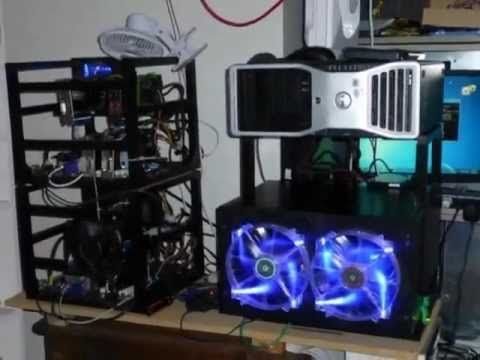 3d printed cryptocurrency mining rigs