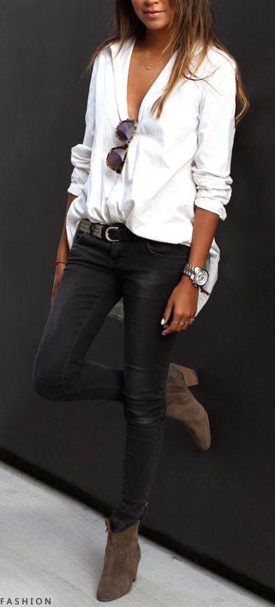 #street #style / leather pants Gürtel dazu? www.beltamor.de: