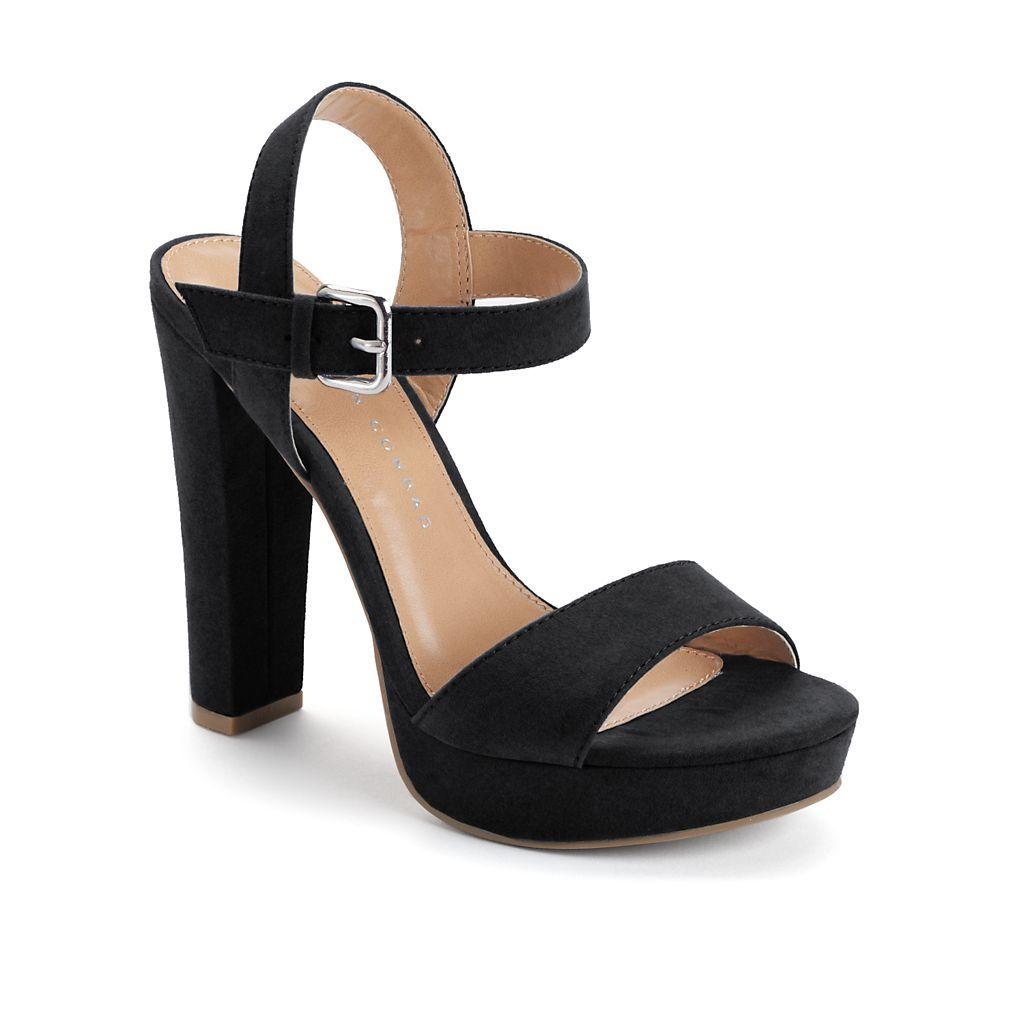 LC Lauren Conrad Azalea Womens High Heel Sandals | Womens