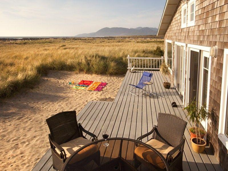 Strange Rockaway Beach House Rental Spectacular Oceanfront Home Download Free Architecture Designs Jebrpmadebymaigaardcom