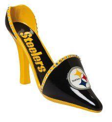 Pittsburgh Steelers Wine Glasses U0026 Accessories   High Heel Wine Bottle  Holder Every Steelers Girl Needs