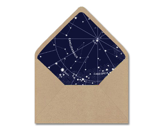 Diy Printable Envelope Liner Template Navy  White  Life Goals