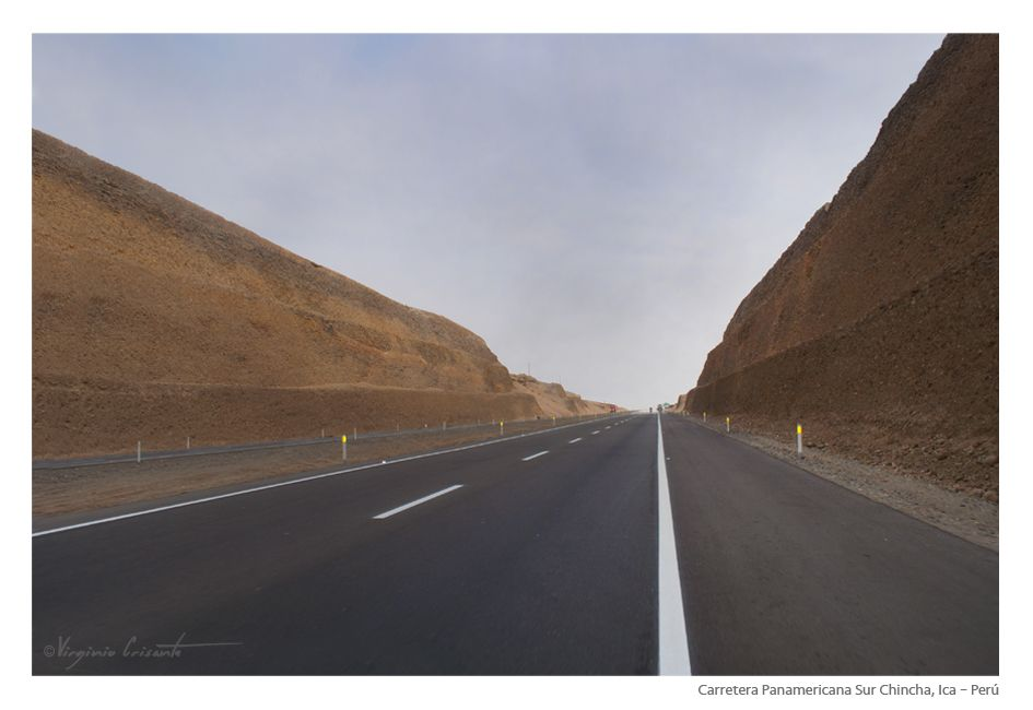 Carretera Panamericana Sur Chincha.