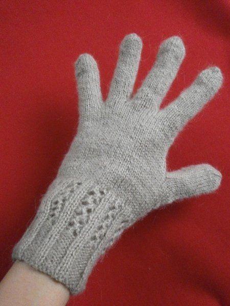 Как связать перчатки спицами, мастер-класс, пошаговые фото ...