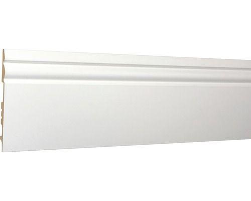 Sockelleiste Streichbar Weiss 15x150x2400mm Flooring