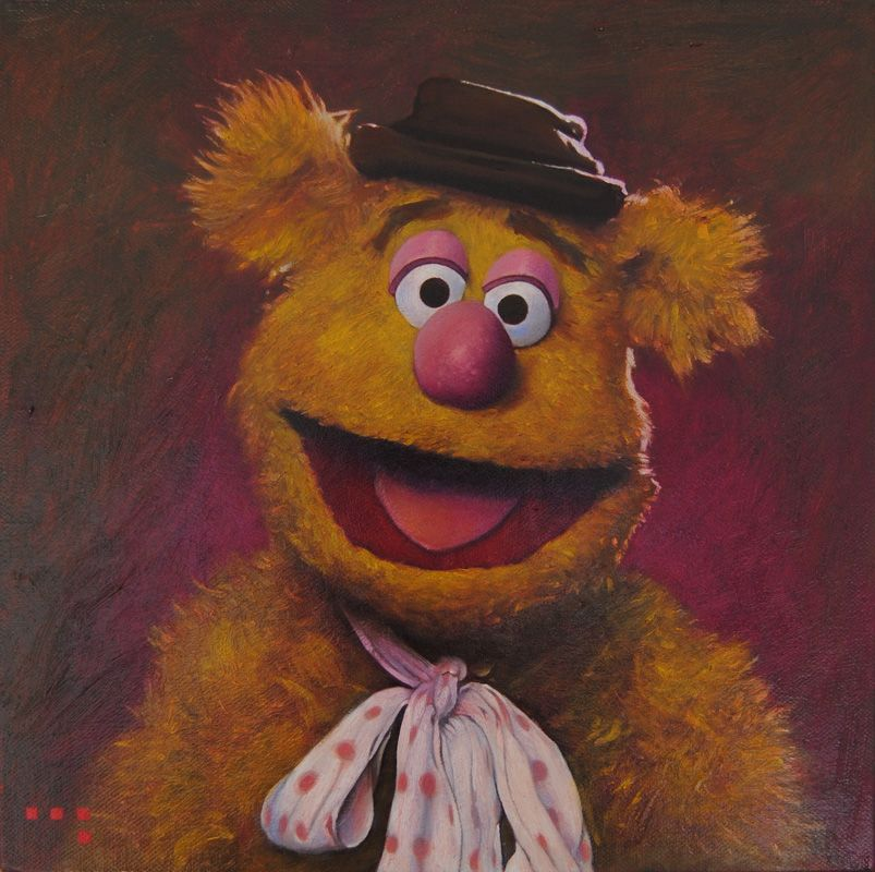 Fozzy Bear By Iconicafineart On Deviantart The Muppet Show Muppets Muppets Most Wanted