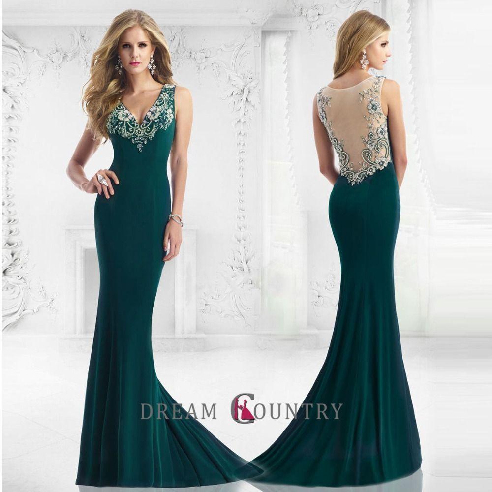 Moda en vestidos de noche largos