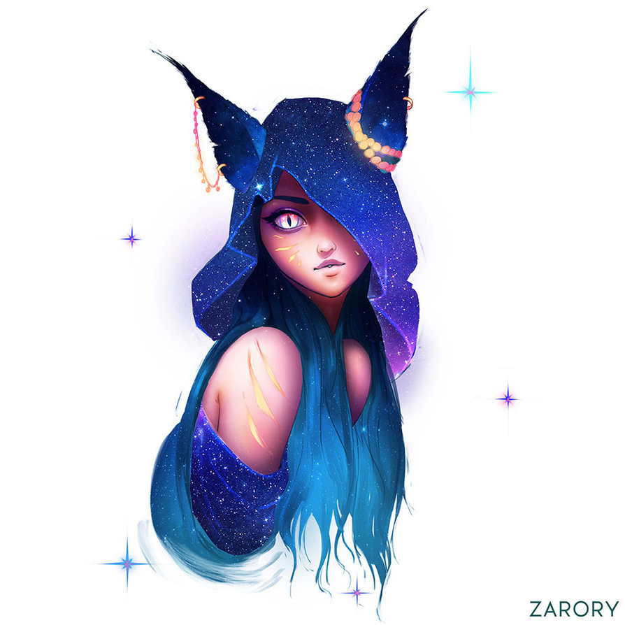 ArtStation Nebula Girls, Casper Hansen Anime witch