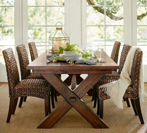 Pottery Barn Dining Sets: Pottery Barn Seagrass Chairs