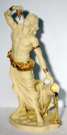 Dionysus, Greek God of Wine, fertility and dance  one of the