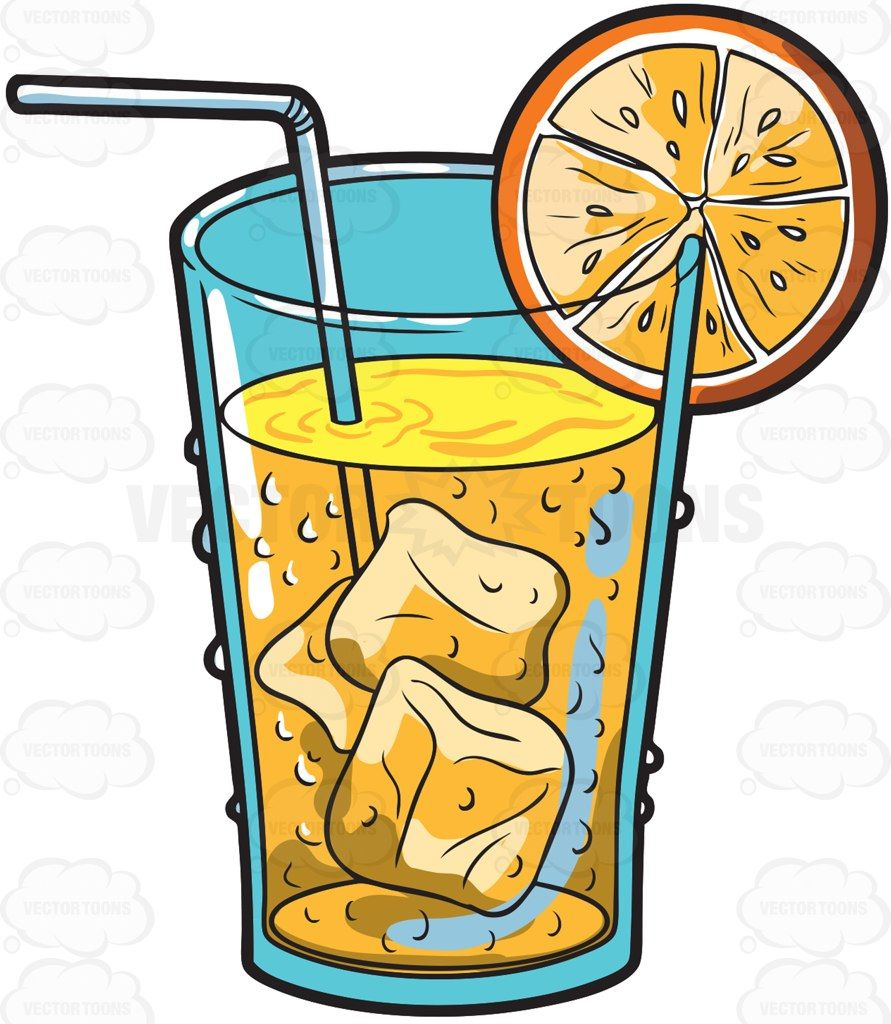 a cold orange juice drink juice drinks orange juice and juice rh pinterest com drinks clipart black and white drinks clipart vector