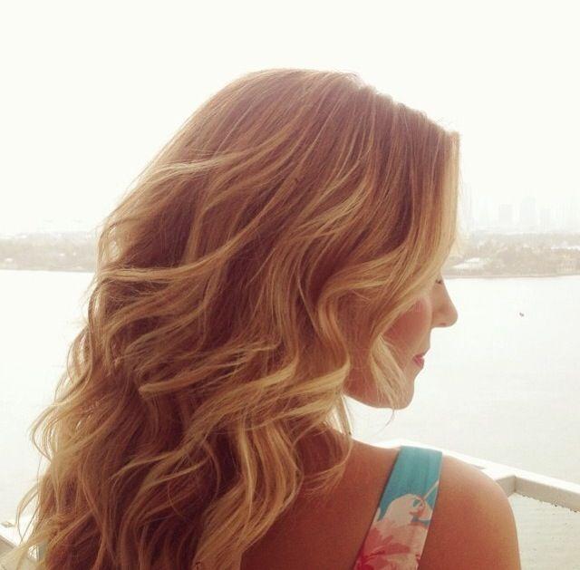 Lauren Conrad via Instagram. Hair by @kristin_ess
