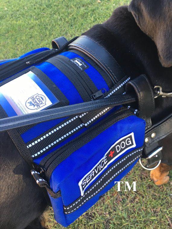 CozyHorse Service Dog Harness Vest Backpack style vest