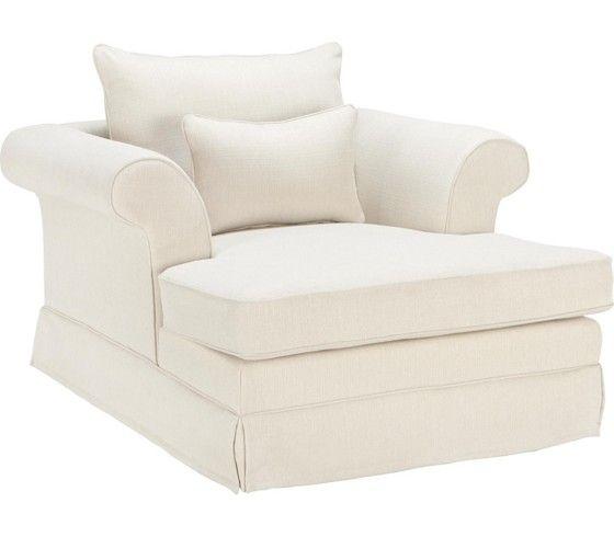 Ein edler Sessel in Beige für gemütliche Mußestunden in Ihrem Zuhause