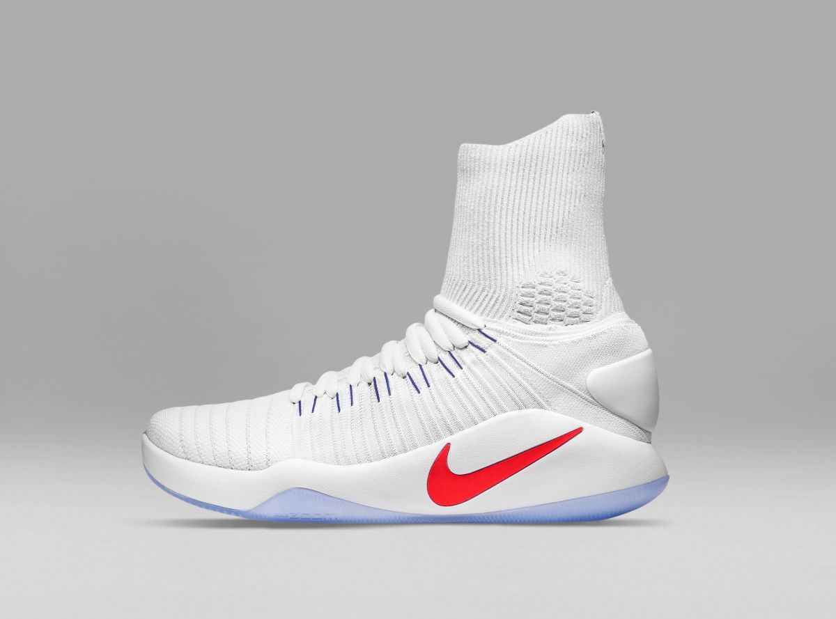 03790aa9ff50 The Nike Hyperdunk 2016 takes on a Flyknit build with Flywire and  full-length Zoom Air