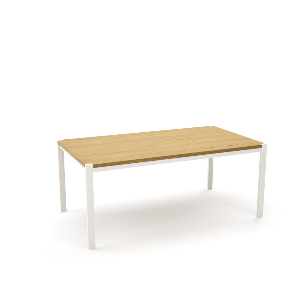 Tisch Ferrum 001 Holz Metall Eiche Astfrei Weiss Esstisch Gartentisch Stahlzart Mobel Moderne Designmobel Aus H Holztisch Ausziehbar Gartentisch Eiche