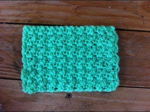 point de riz au crochet punto arroz a crochet youtube siarpes crochet crochet videos. Black Bedroom Furniture Sets. Home Design Ideas