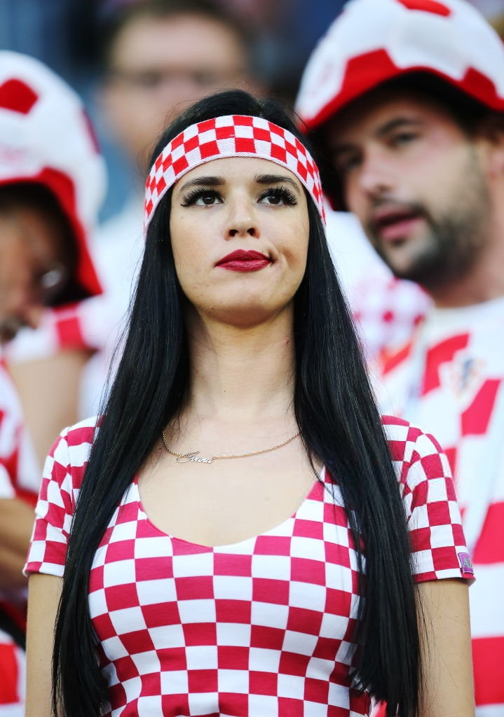 Authoritative World cup fans hot girls this
