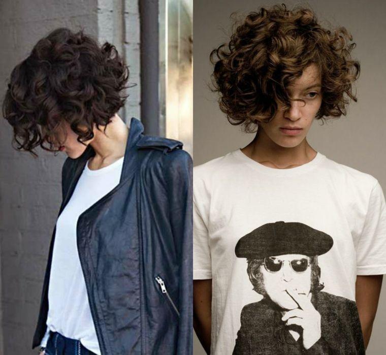 1001 + Idee di capelli mossi, dai look corti a quelli più ...