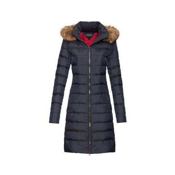 Tommy Hilfiger Tyra Down Coat Down Coat Fashion Navy Coat