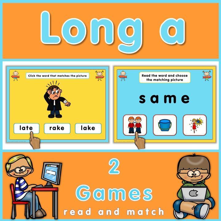 long a powerpoint games. this set has 2 games to practice long a, Modern powerpoint