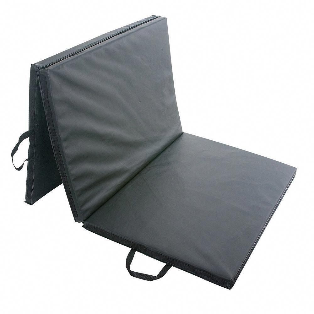 Sunny Health & Fitness Folding Gym Mat (No. 064), Black