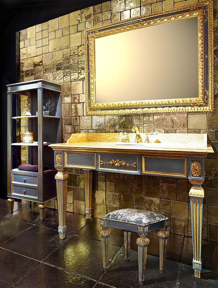Mobili Classici Made In Italy.Bianchini Capponi Rinascimento Collezione Bagno Galleria
