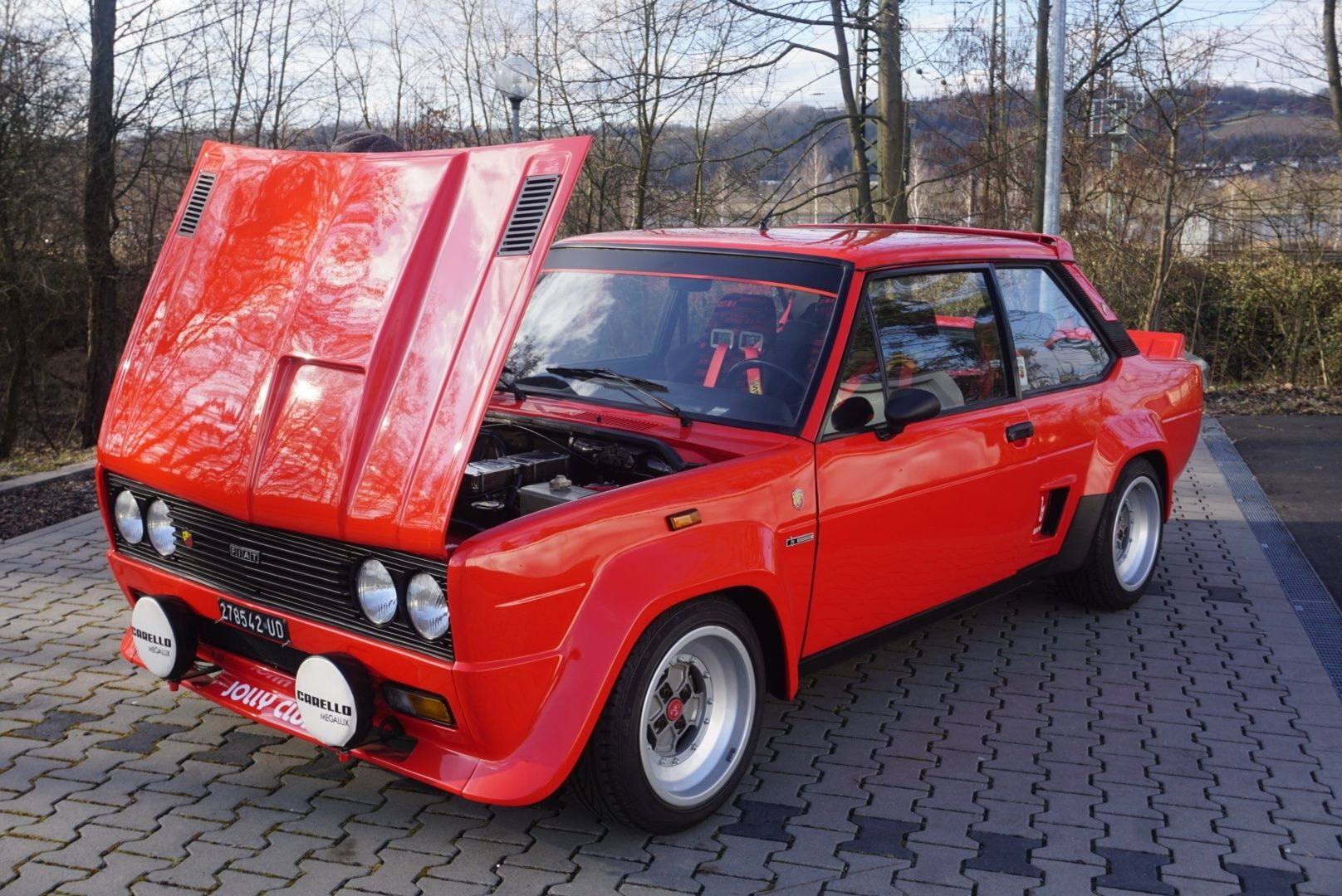 1976 Fiat 131 Abarth Rally Stradale Classic Driver Market Met