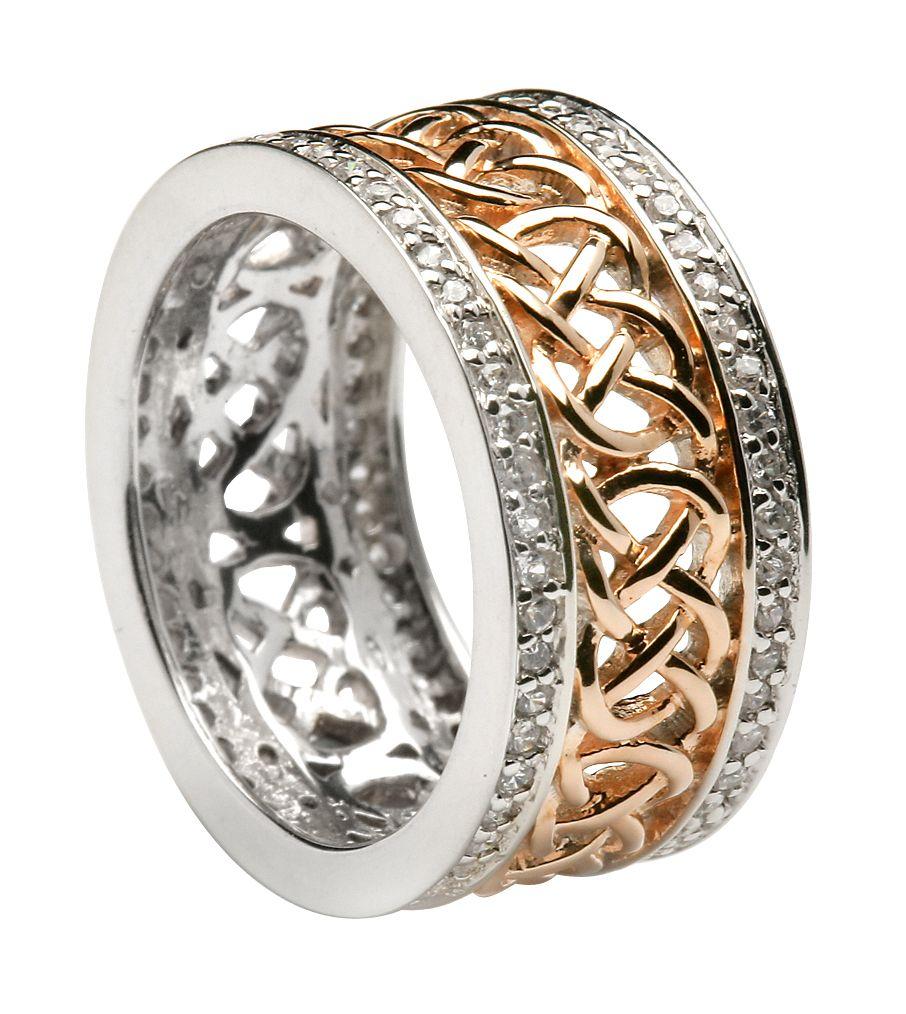 celtic engagement ring irish wedding bands 906x1014 Favorites
