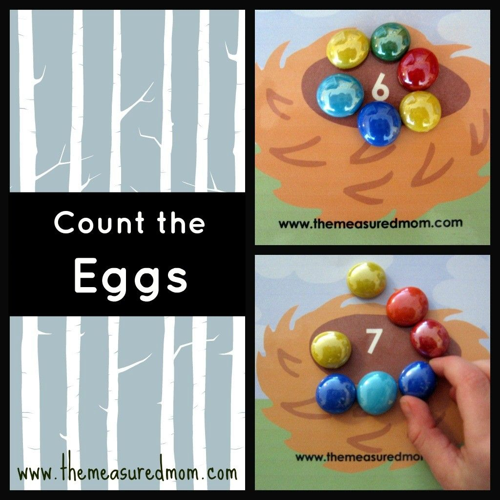 Egg Counting Mats The Measured Mom Alphabet Activities Preschool Math Games Printables Learn Alphabet Activities [ 1024 x 1024 Pixel ]