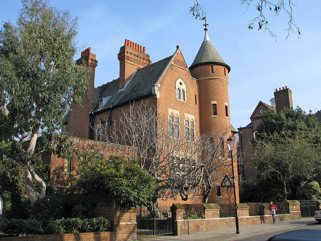 London The Tower House By Marc Vie Via Flickr Tower House Famous Houses Mansions