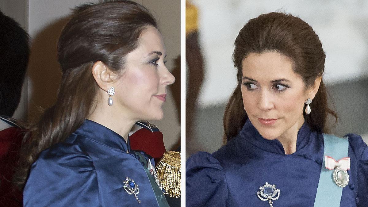 GALLERI: Kronprinsesse Marys mange frisurer 2014 | Billed Bladet