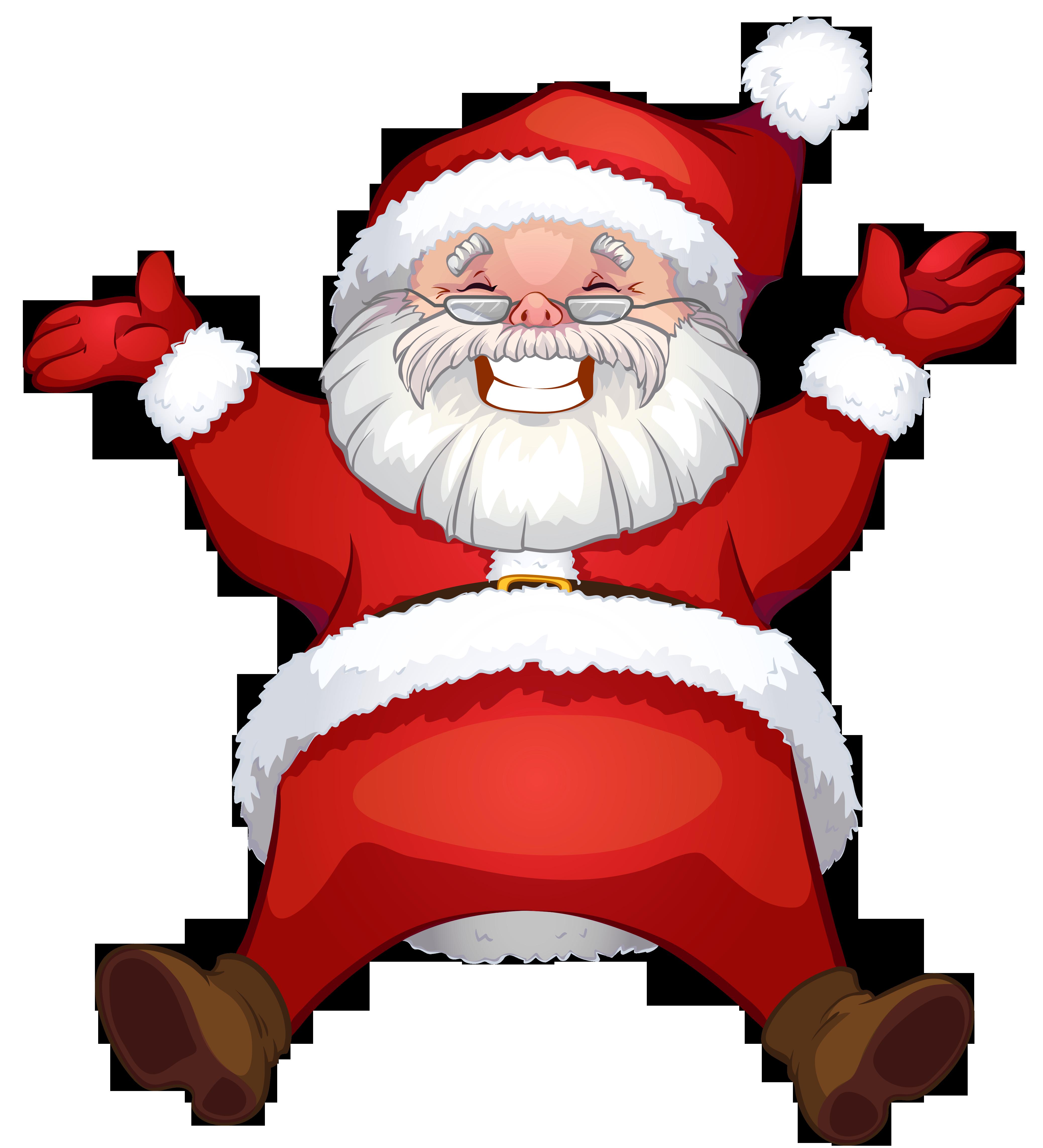 Transparent Santa Claus Clipart (With images) Disney