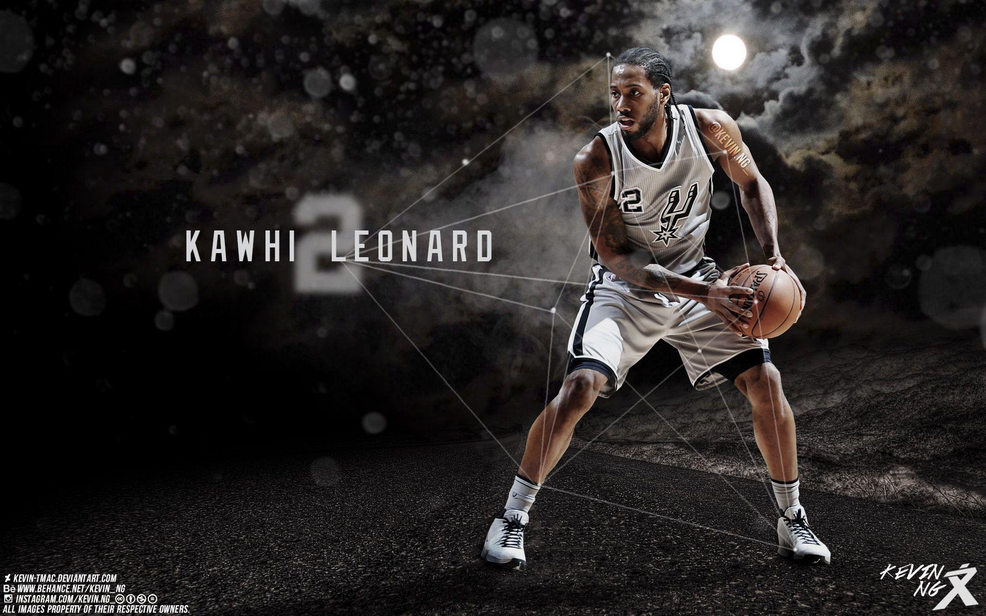Kawhi Leonard San Antonio Spurs 2016 Wallpaper (With