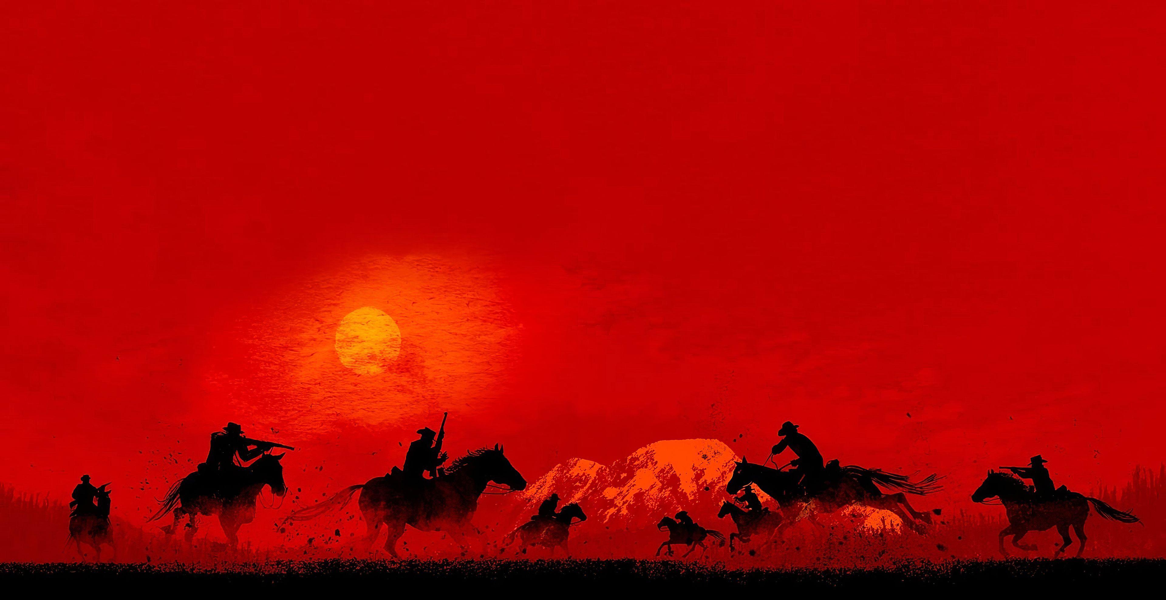 Red Dead Redemption 2 3840x2160 Red Dead Online Red Dead Redemption Wallpaper