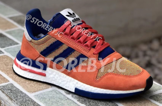 374193f612f9 Sneak Peek At The adidas ZX 500 RM Son Goku A first look at the entire